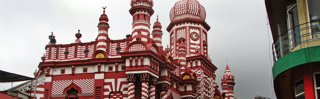 Red Mosque - Colombo