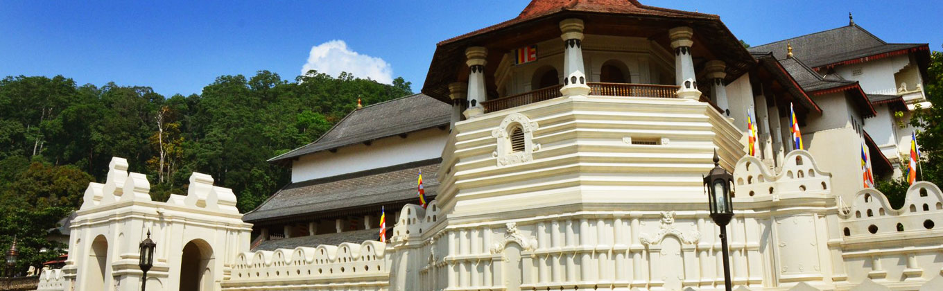Temple of the Tooth - Kandy